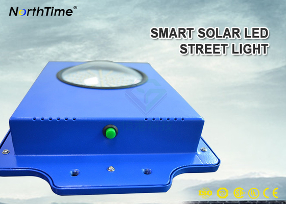 چین Time Control 6W Smart Solar Street Light 600-700LM With Infrared Motion Sensor کارخانه